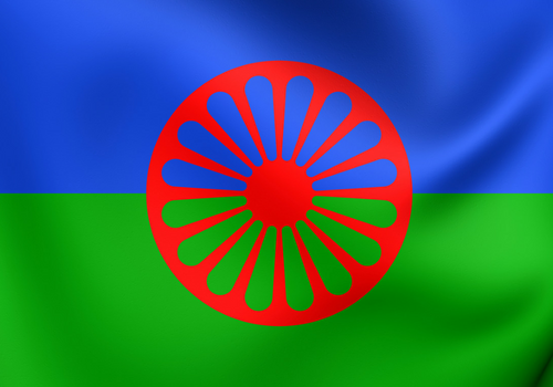 romska zastava